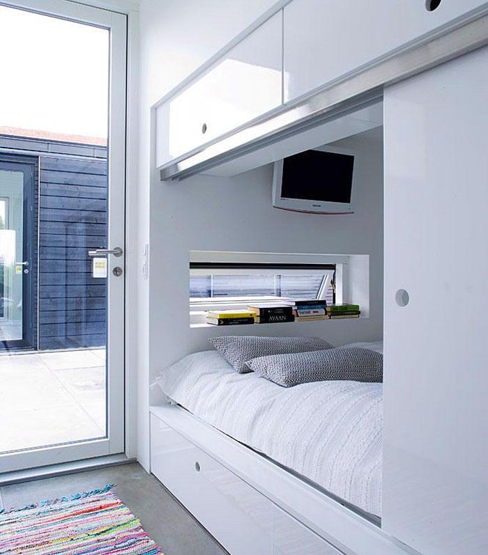 Идеи которые помогут спрятать гостевую кровать 32 | Дока-Мастер