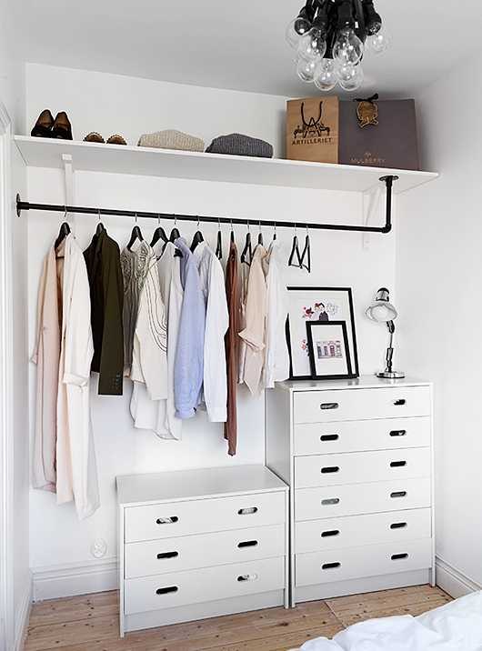 Стильные альтернативы платяному шкафу 5 | Дока-Мастер