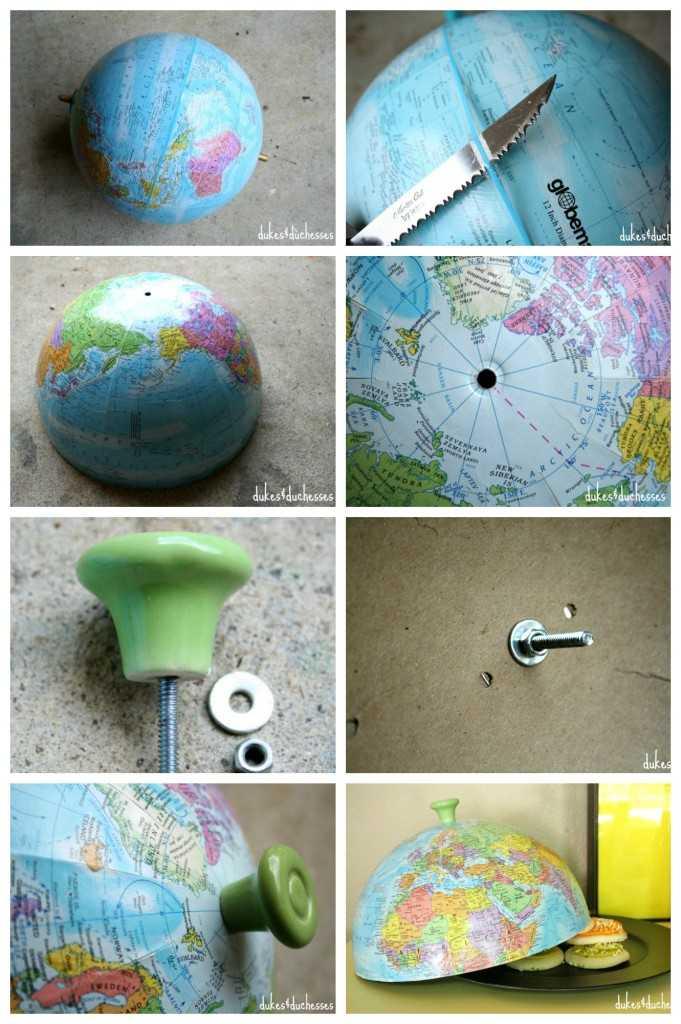 Что можно сделать из старых глобусов