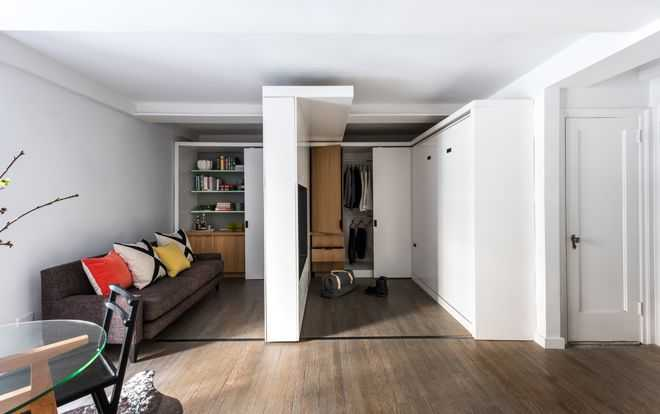 Одна комната в которой помещается пять