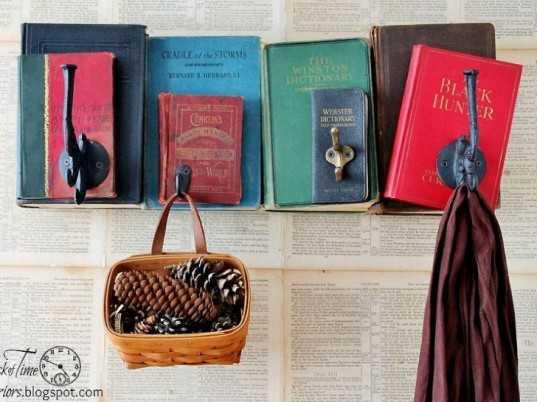 Что можно сделать из ненужных книг