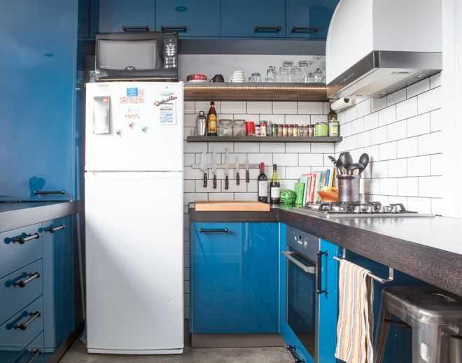 9 примеров узких кухонь 7   Дока-Мастер