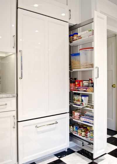 Скрытые возможности хранения на кухне 8 | Дока-Мастер