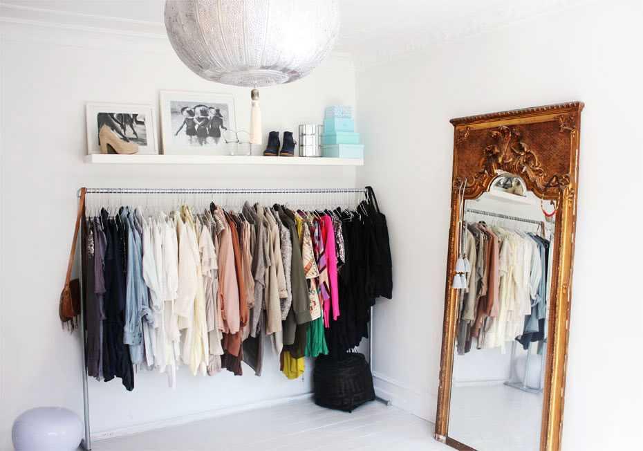 Стильные альтернативы платяному шкафу 9 | Дока-Мастер