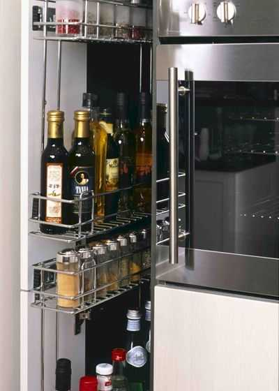 Скрытые возможности хранения на кухне 9 | Дока-Мастер