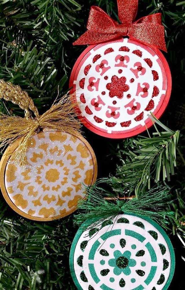 Новогодние украшения из ненужных компакт-дисков 9   Дока-Мастер