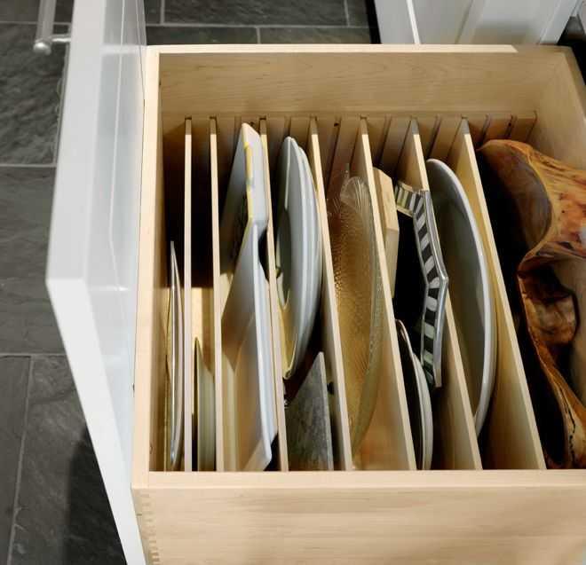 Где хранить праздничную посуду которая редко используется
