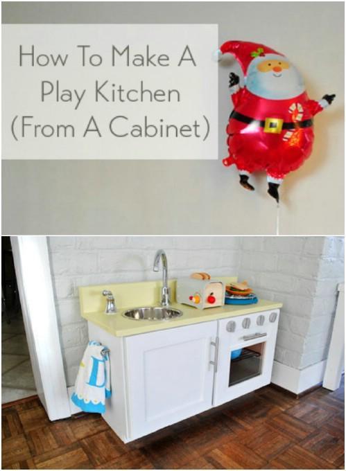 Что можно сделать из старой кухонной мебели