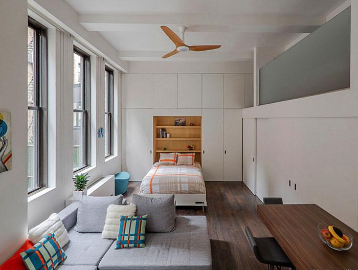 Идеи которые помогут спрятать гостевую кровать 9 | Дока-Мастер