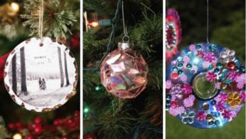 Новогодние украшения из ненужных компакт-дисков 6 | Дока-Мастер