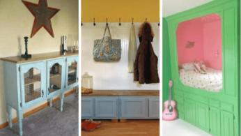 Что можно сделать из старой кухонной мебели 4 | Дока-Мастер