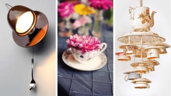 Потрясающие идеи самоделок из чашек и чайников 6 | Дока-Мастер