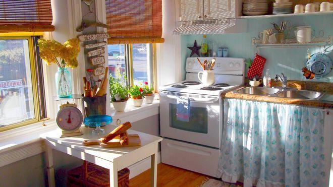 12 старых кухонь, которые дарят вдохновение 10