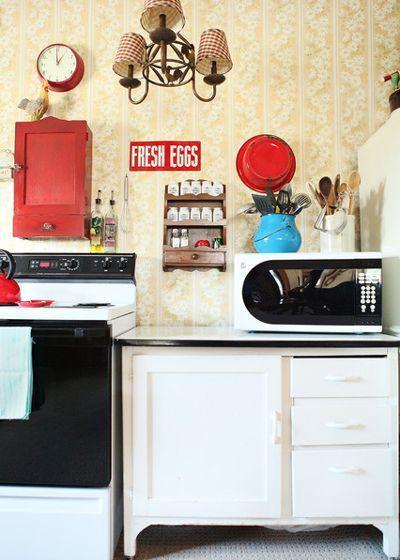 12 старых кухонь, которые дарят вдохновение 04