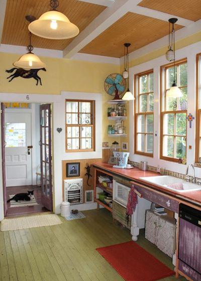 12 старых кухонь, которые дарят вдохновение 06