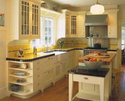 12 старых кухонь, которые дарят вдохновение 09