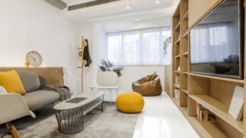 Современный дизайн квартиры площадью 40 м² 8 | Дока-Мастер