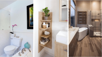 Идеи декора ванной комнаты 96   Дока-Мастер