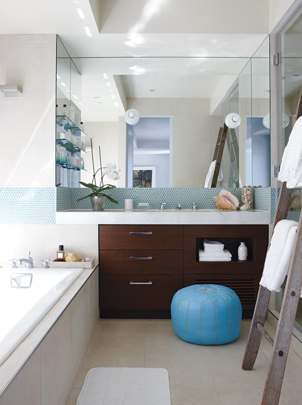 14 способов оптимизировать ванную комнату 01