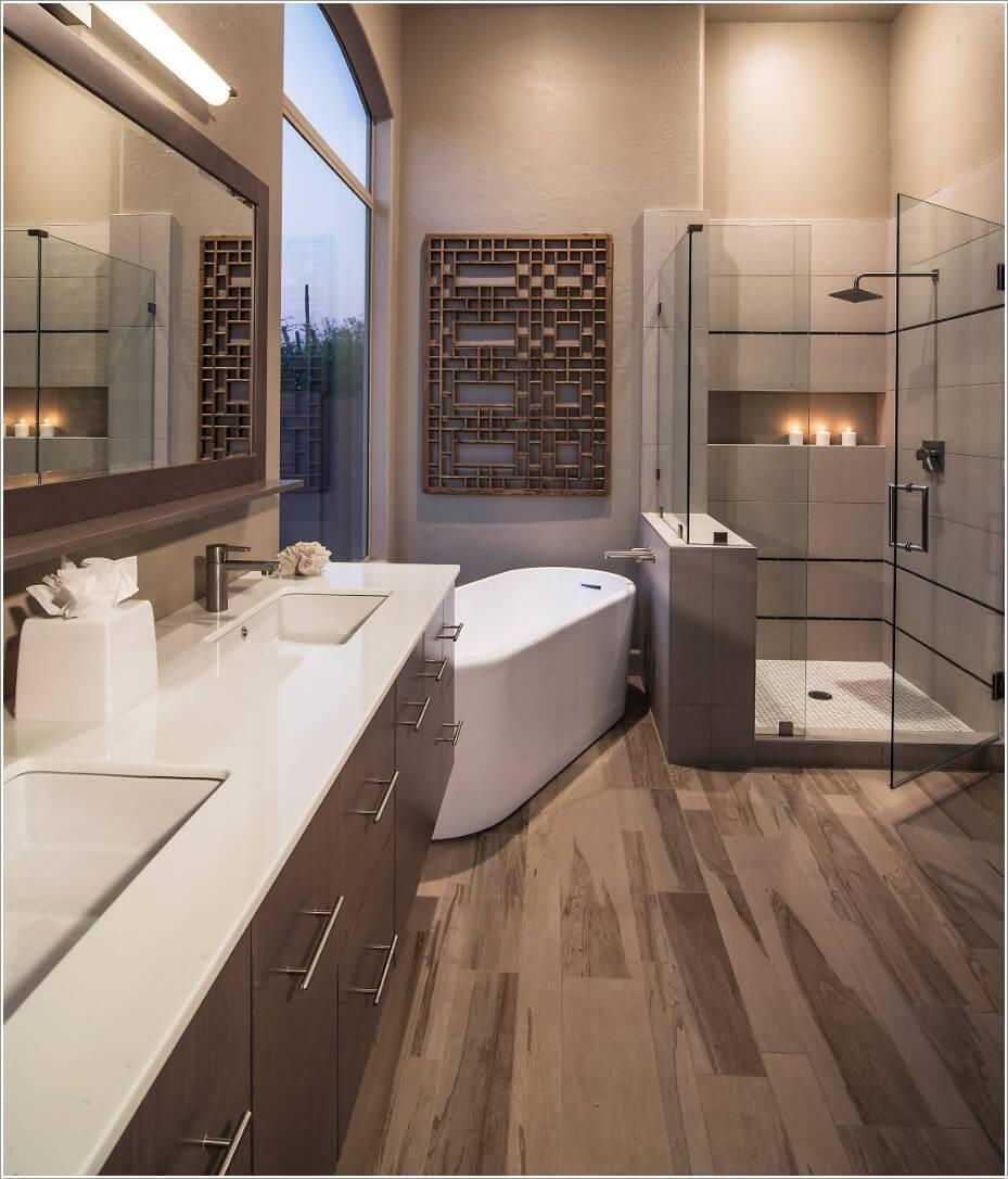 Идеи декора ванной комнаты 1 | Дока-Мастер