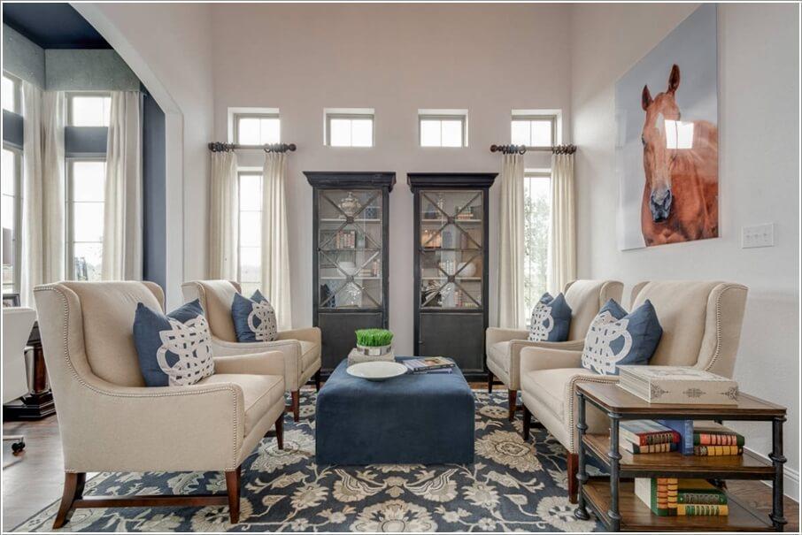 Кресла для стильной гостиной 1 | Дока-Мастер
