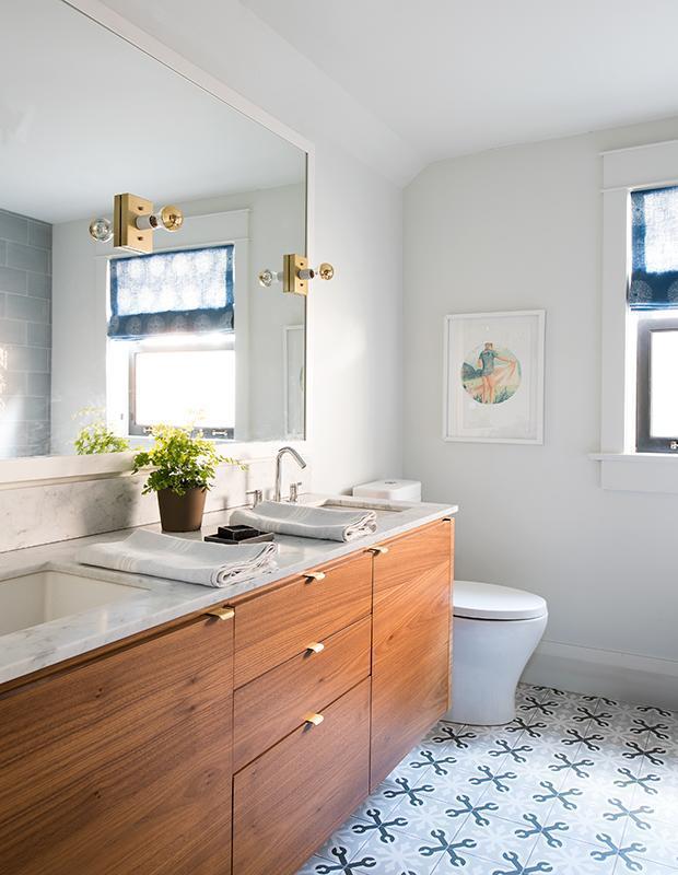 14 способов оптимизировать ванную комнату 10