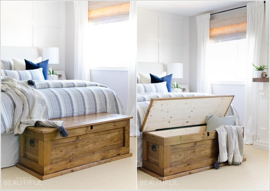 10 способов хранить больше в вашей спальне 10