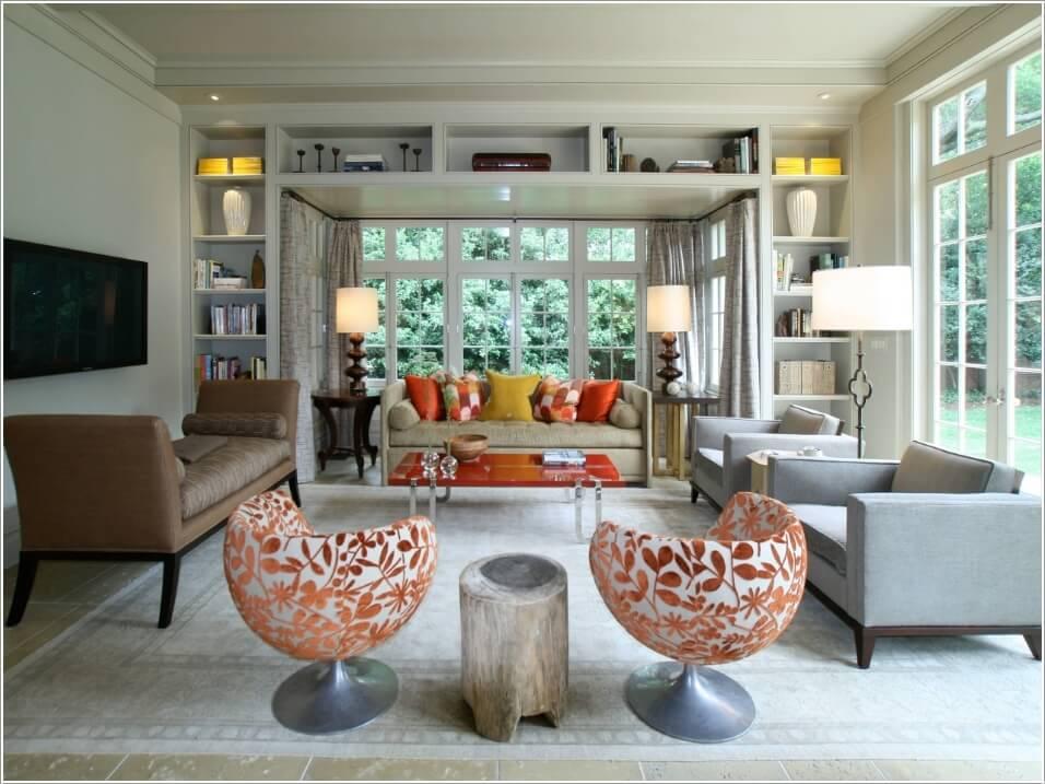 Кресла для стильной гостиной 10 | Дока-Мастер