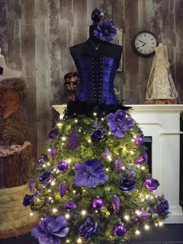 image12-13   Ёлка-платье — стильно и необычно!