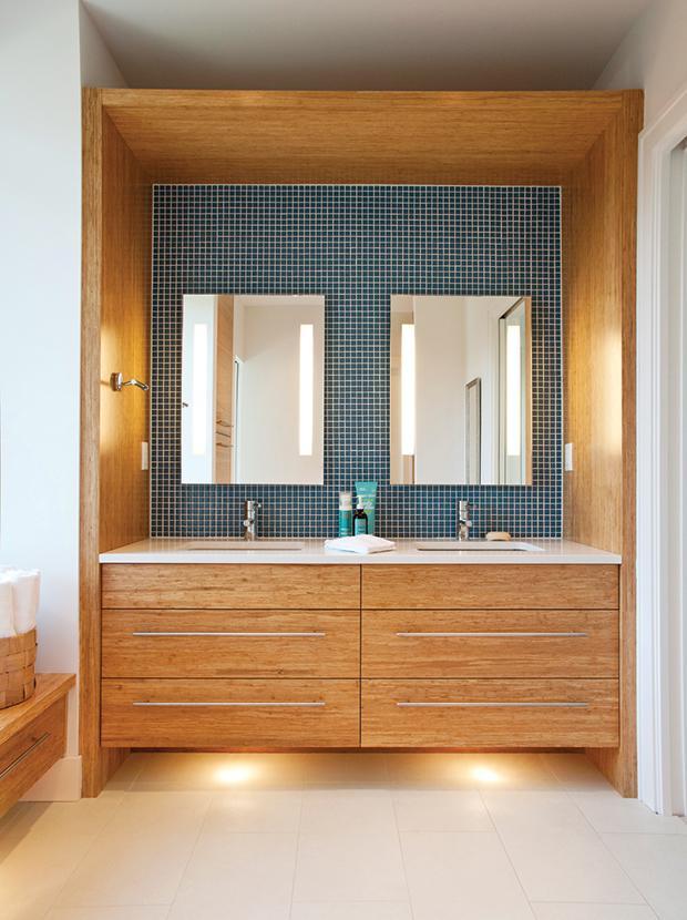 14 способов оптимизировать ванную комнату 13