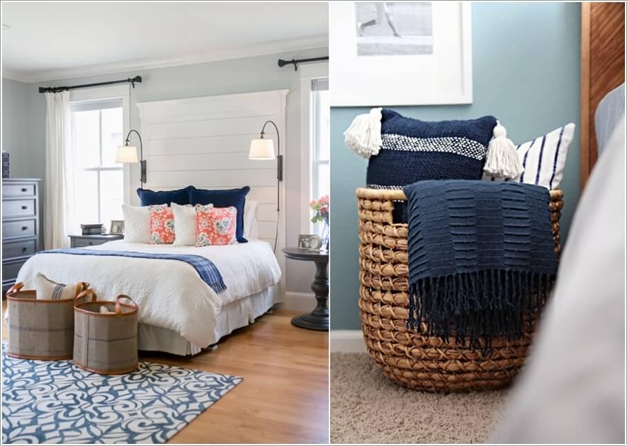 10 способов хранить больше в вашей спальне 03