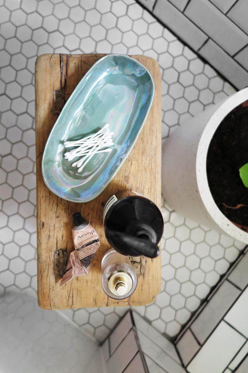 Превращение бежевой ванной, в ванную в скандинавском стиле 04