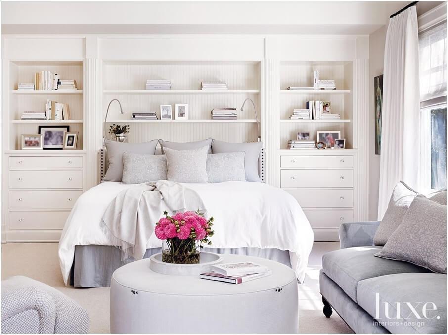 10 способов хранить больше в вашей спальне 04