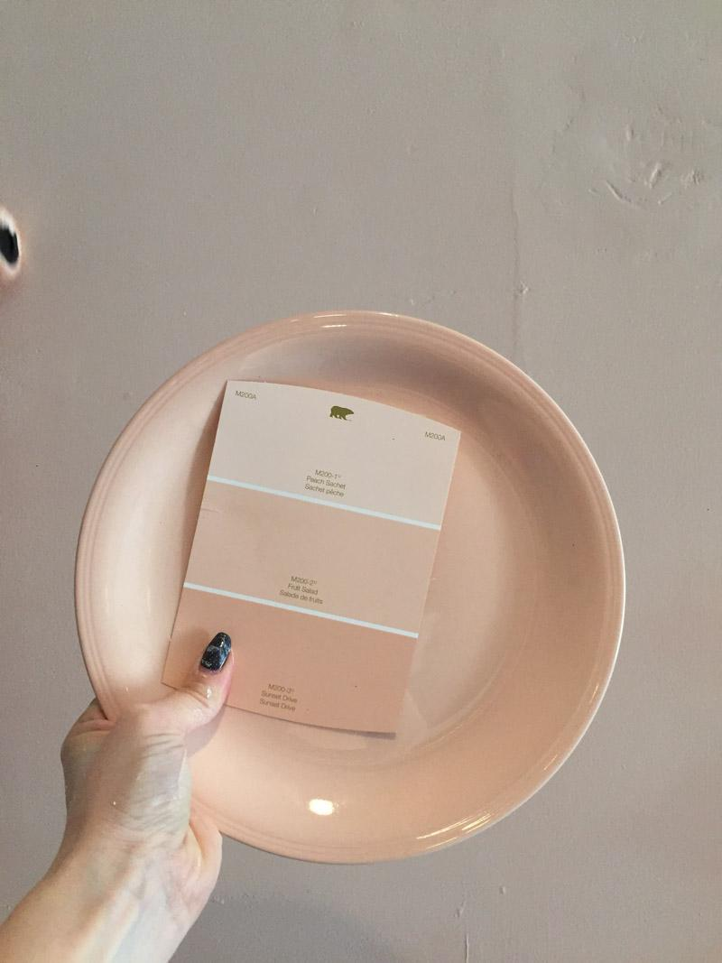 Стираем серые будни: персиковая кухня - 05