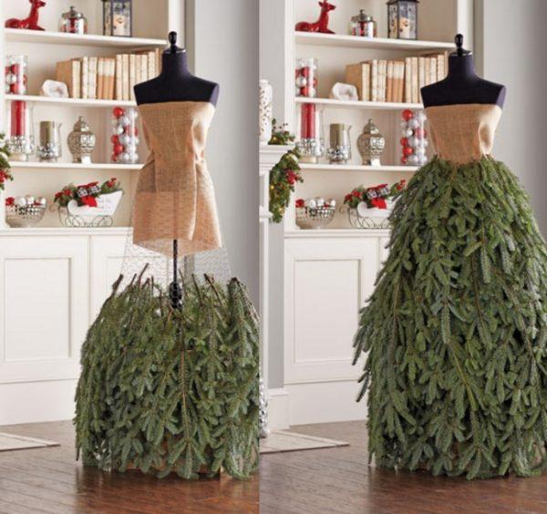 image5-18   Ёлка-платье — стильно и необычно!