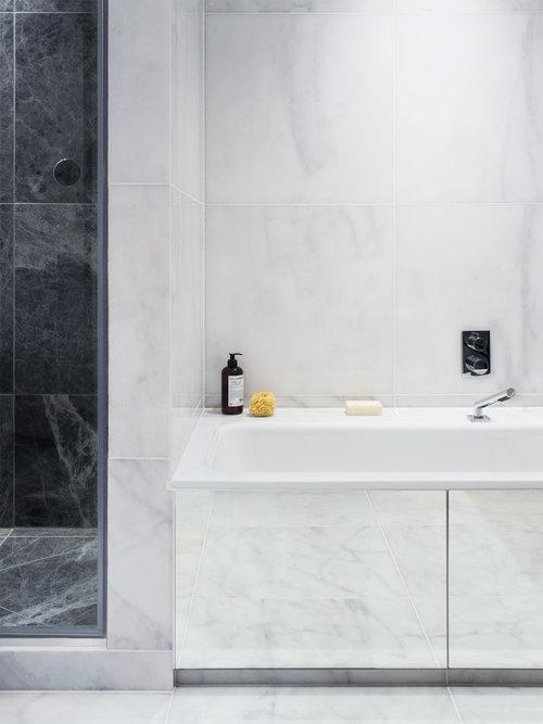 Бюджетный дизайнерский трюк который преобразит вашу ванную 06