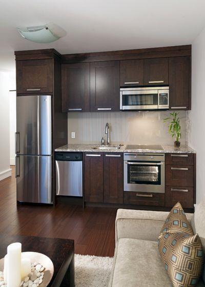 12 мини-кухонь для удобства и комфортной жизни 06