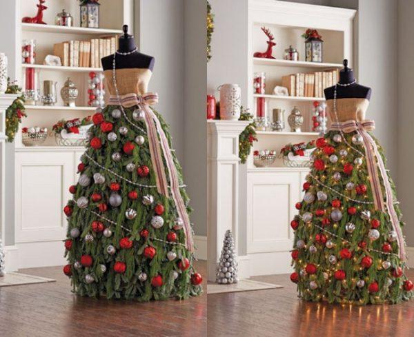 image6-17   Ёлка-платье — стильно и необычно!