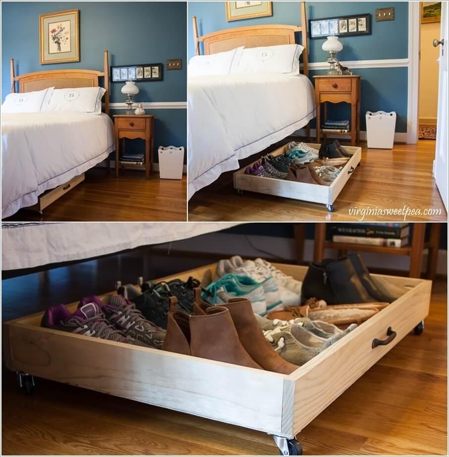 10 способов хранить больше в вашей спальне 06