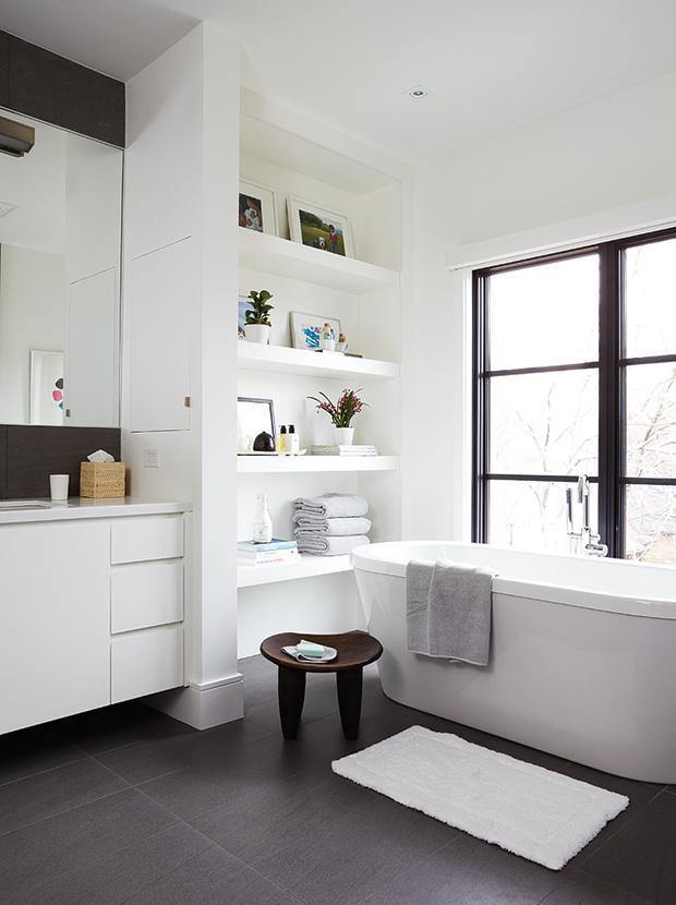 14 способов оптимизировать ванную комнату 07