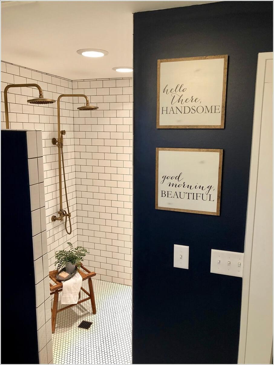 Идеи декора ванной комнаты 7 | Дока-Мастер