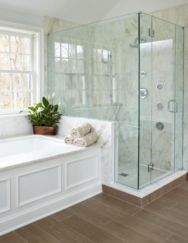 Бюджетный дизайнерский трюк который преобразит вашу ванную 08