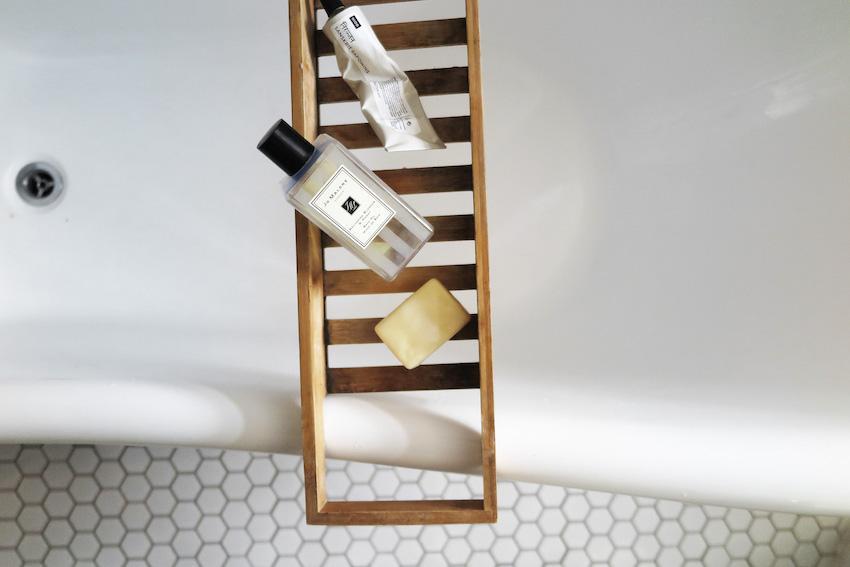 Превращение бежевой ванной, в ванную в скандинавском стиле 08