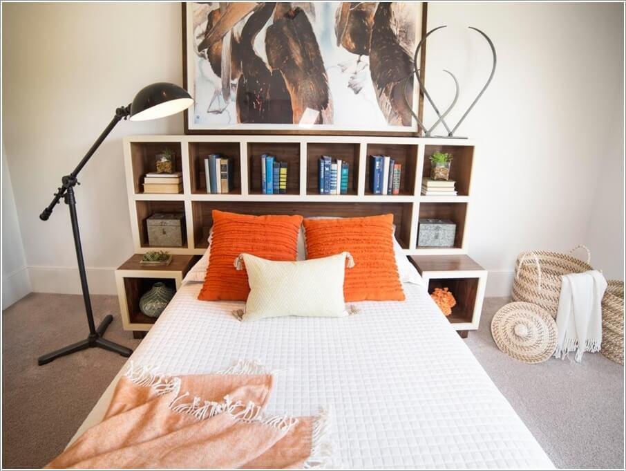 10 способов хранить больше в вашей спальне 08