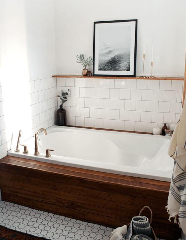 Бюджетный дизайнерский трюк который преобразит вашу ванную 09