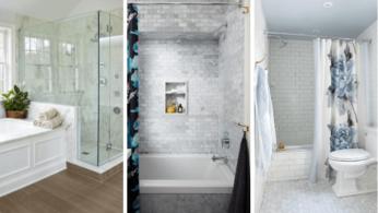 Бюджетный дизайнерский трюк который преобразит вашу ванную 1 | Дока-Мастер