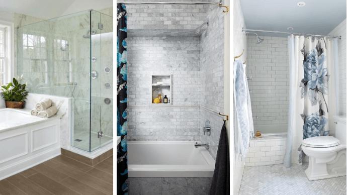 Бюджетный дизайнерский трюк который преобразит вашу ванную 1   Дока-Мастер