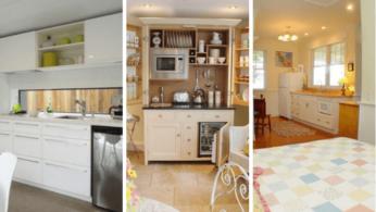 12 мини-кухонь для удобства и комфортной жизни 3 | Дока-Мастер