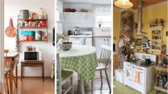 12 старых кухонь, которые дарят вдохновение 2 | Дока-Мастер
