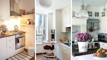 16 компактных решений для небольших кухонь 6 | Дока-Мастер